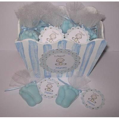 Recuerdos De Recien Nacido Varon.Jabones Piecitos Souvenir Nacimiento Baby Shower 170 00