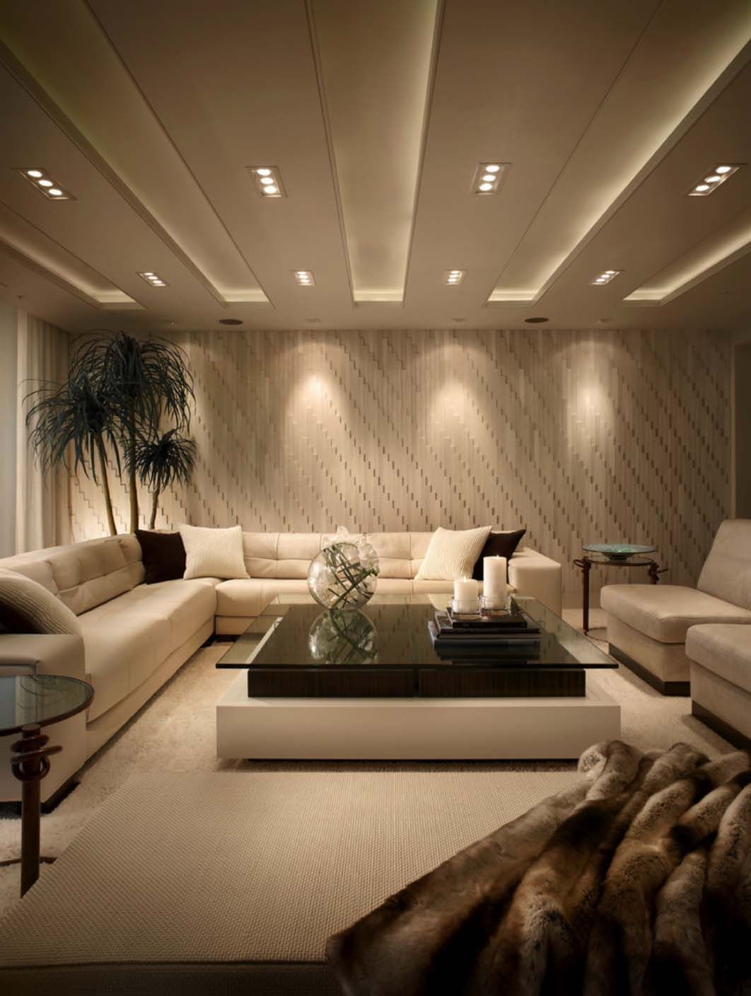 Impeccable Design Details In Luxurious Boca Raton Residence Living Room Design Modern Luxury Living Room Elegant Living Room