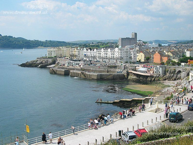 Plymouth Sea Front, Devon, England