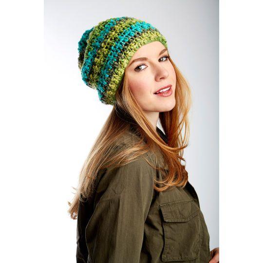 Bernat® Dimensions® Slouchy Crochet HatBernat® Dimensions® Slouchy ...