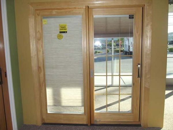 Sliding Glass Doors With Built In Blinds Pella Sliding Doors With