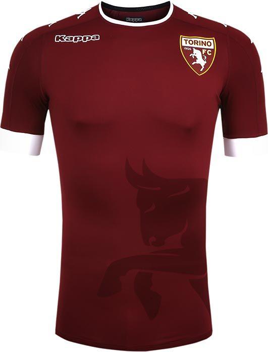 9e01e4141c Torino FC (Italy) - 2016 2017 Kappa Home Shirt Camisas Estilosas