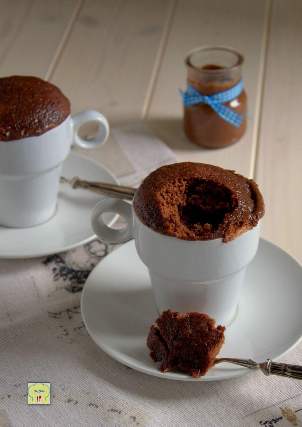 Bagno Nella Nutella.Torta In Tazza O Mug Cake Alla Nutella Ricetta Golosa Facile E