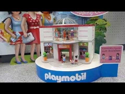 das video zum playmobil shopping center artikel nr 5485. Black Bedroom Furniture Sets. Home Design Ideas