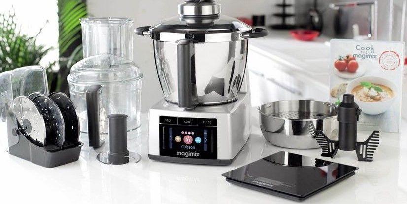 magimix cook expert chrome mat robot