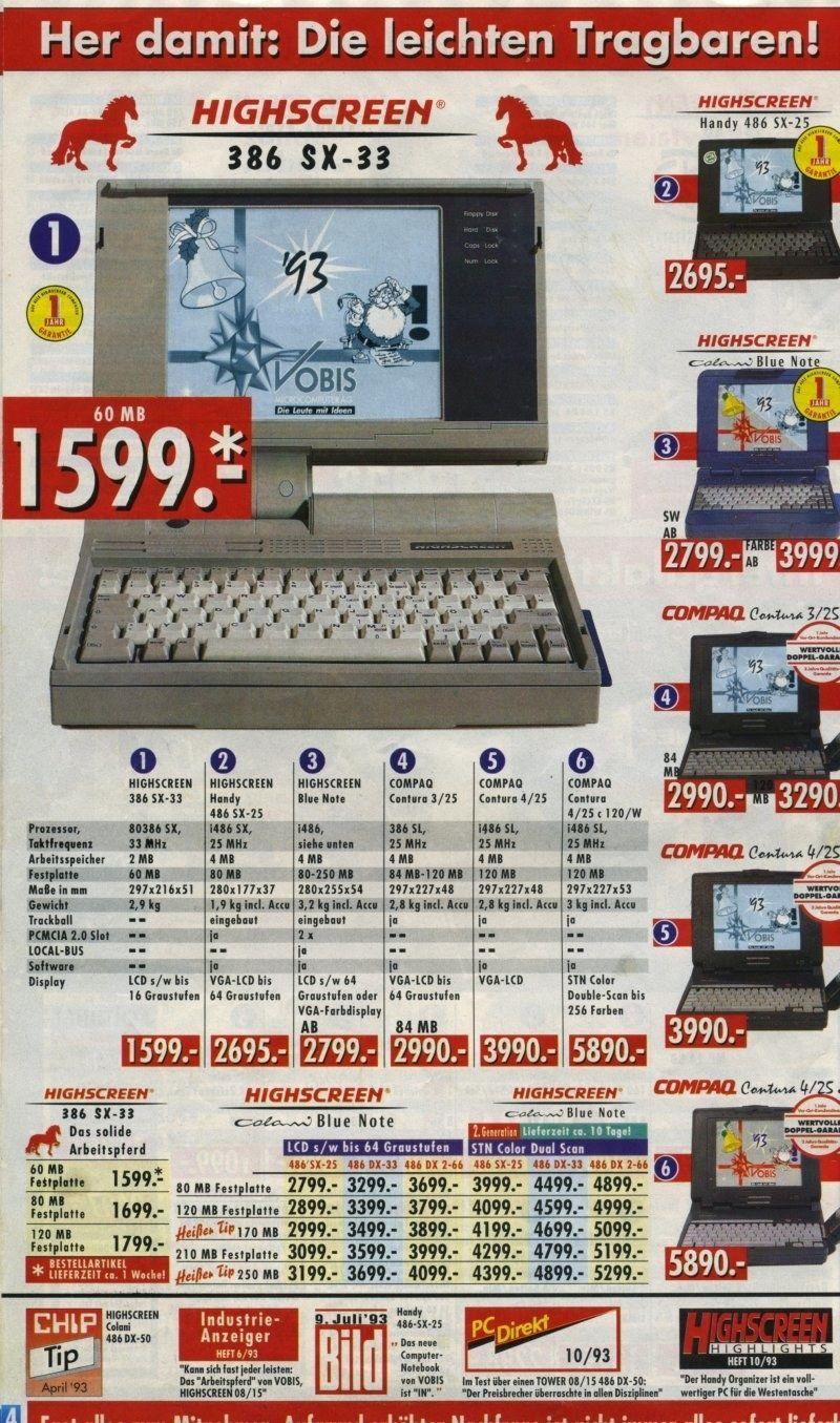 Photo of 22 Vobis-Kataloge der 90er, die Kinder von heute nicht mehr verstehen