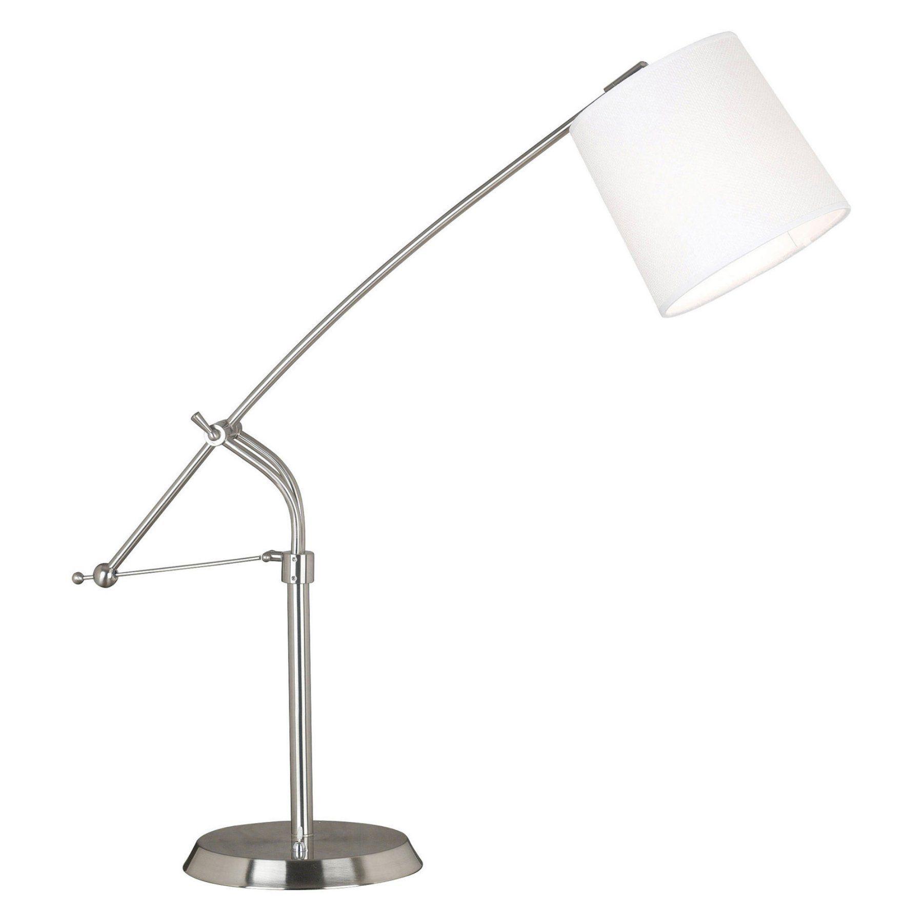 Kenroy Home Reeler Table Lamp Brushed Steel 20813BS