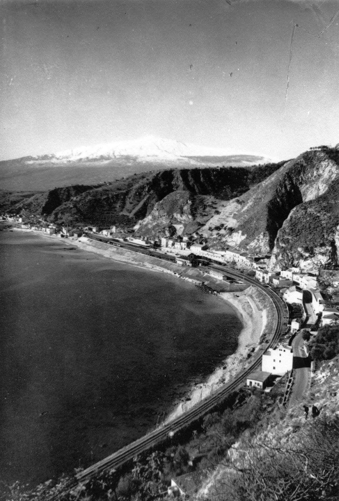 Giardini Naxos Me Come Eravamo Anno 1925 Circa Panorama