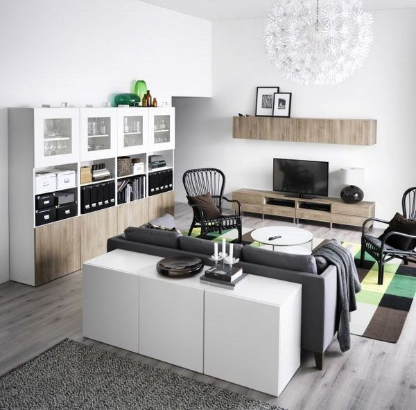 Ikea Living Rooms Ideas Patterned Chairs Room 15 Beautiful House Elegant Black Gray White Super And Sensual Design Might Be Perfect Fit For You If Are A
