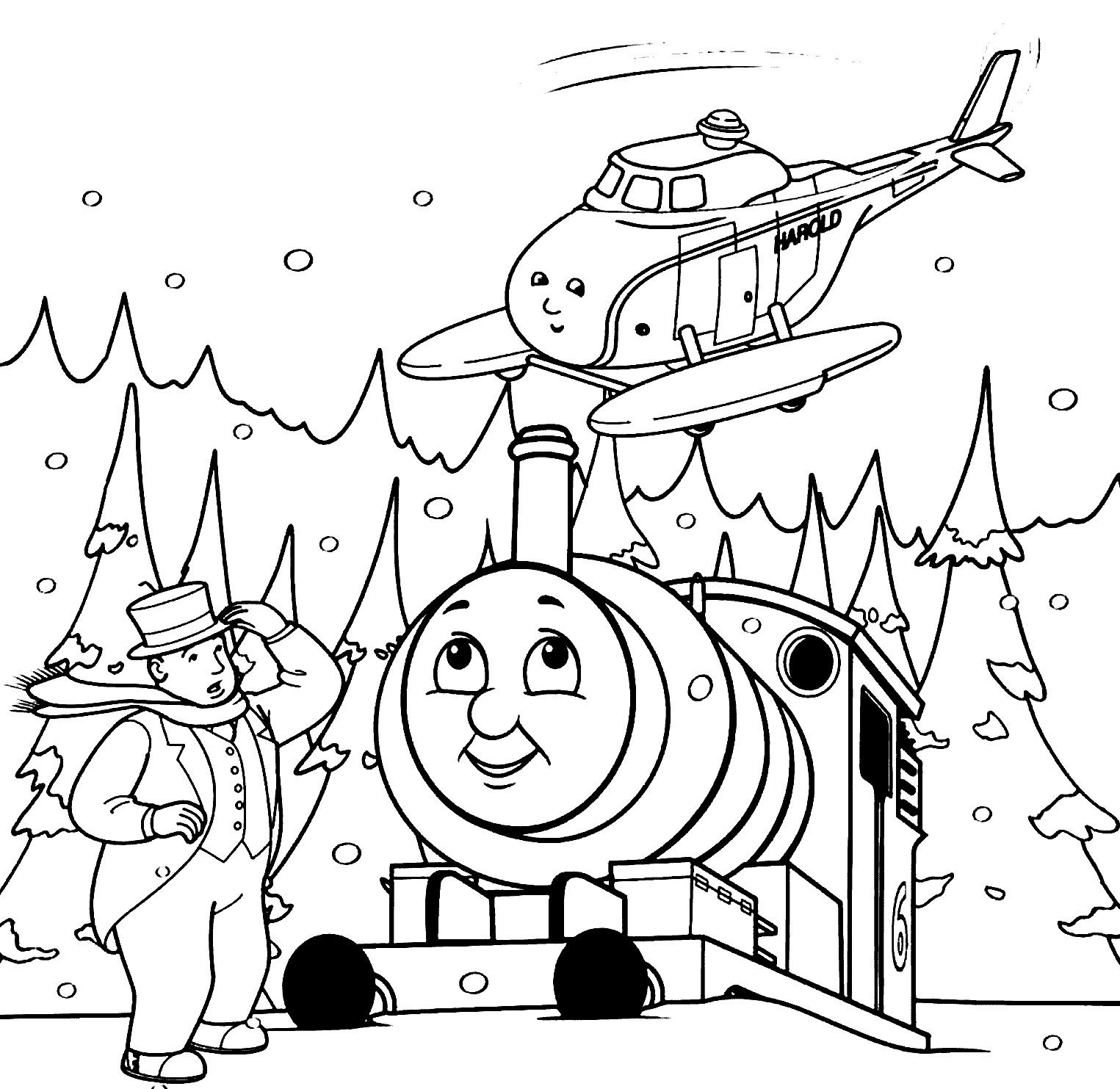 Diesel Train Coloring Pages Coloring Pages Thomas Coloring Page