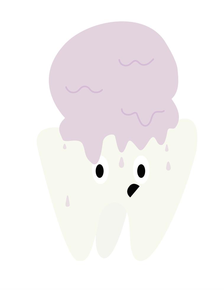 Detail Ice Cream Hello Kitty Teardrop Shape Shapes