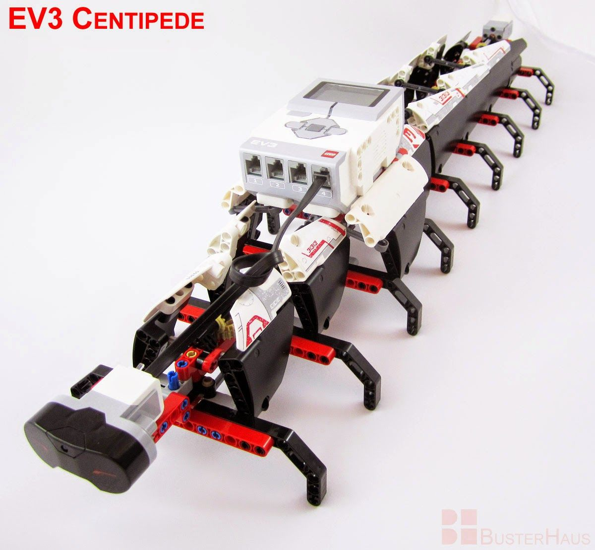 Ev3 Centipede Instructions Busterhaus Lego Mindstorms