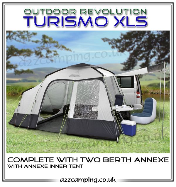 2016 Outdoor Revolution Turismo XLS Awning FREE Heavy Duty Pegs