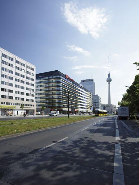 Aussenansicht Ramada Hotel Berlin Alexanderplatz Hotel Sites Hotel Ramada