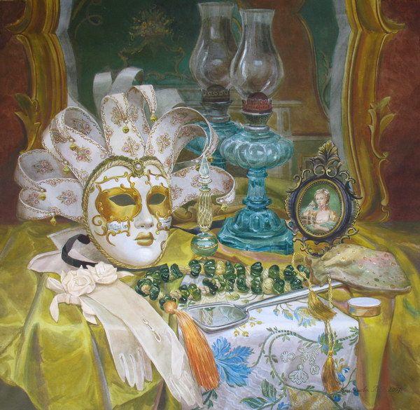 Виктория Кирьянова. Маска на туалетном столике, 2007