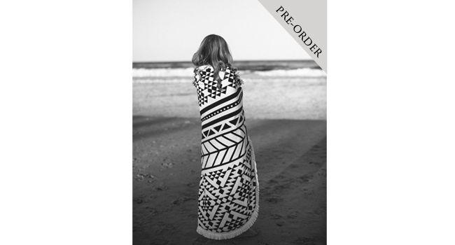 The Beach People Round Beach Towel...