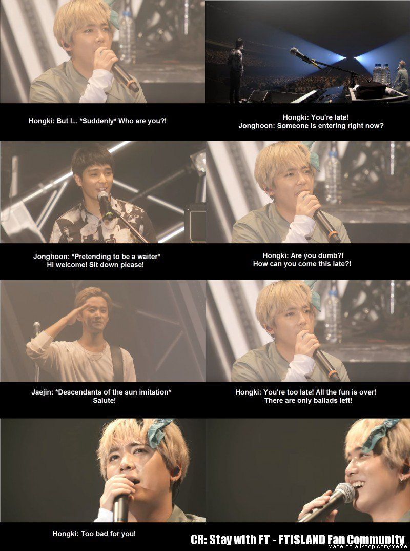 When a fan was late for FT's concert XD