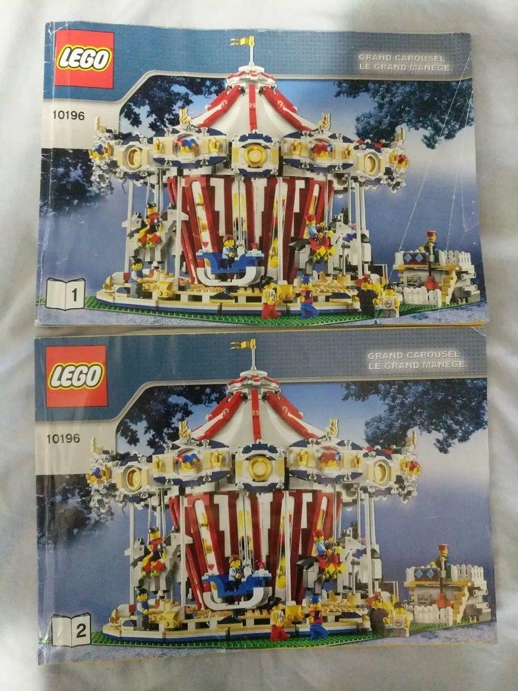 Lego 10196 Grand Carousel Instruction Books Buying Toys