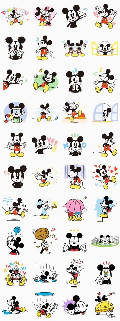 tegn mickey mouse