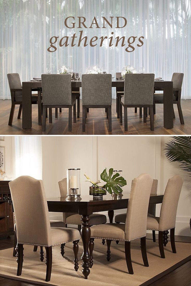 City Furniture Makes It Easy To Find A Dining Set That Will