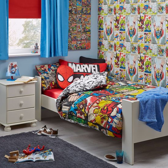 Best Marvel Bedroom Ideas Marvel Bedroom Boys Bedroom Decor 400 x 300