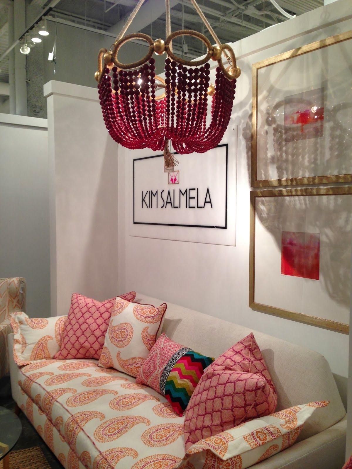 Kim Salmela upholstery and Ro Sham Beaux lighting