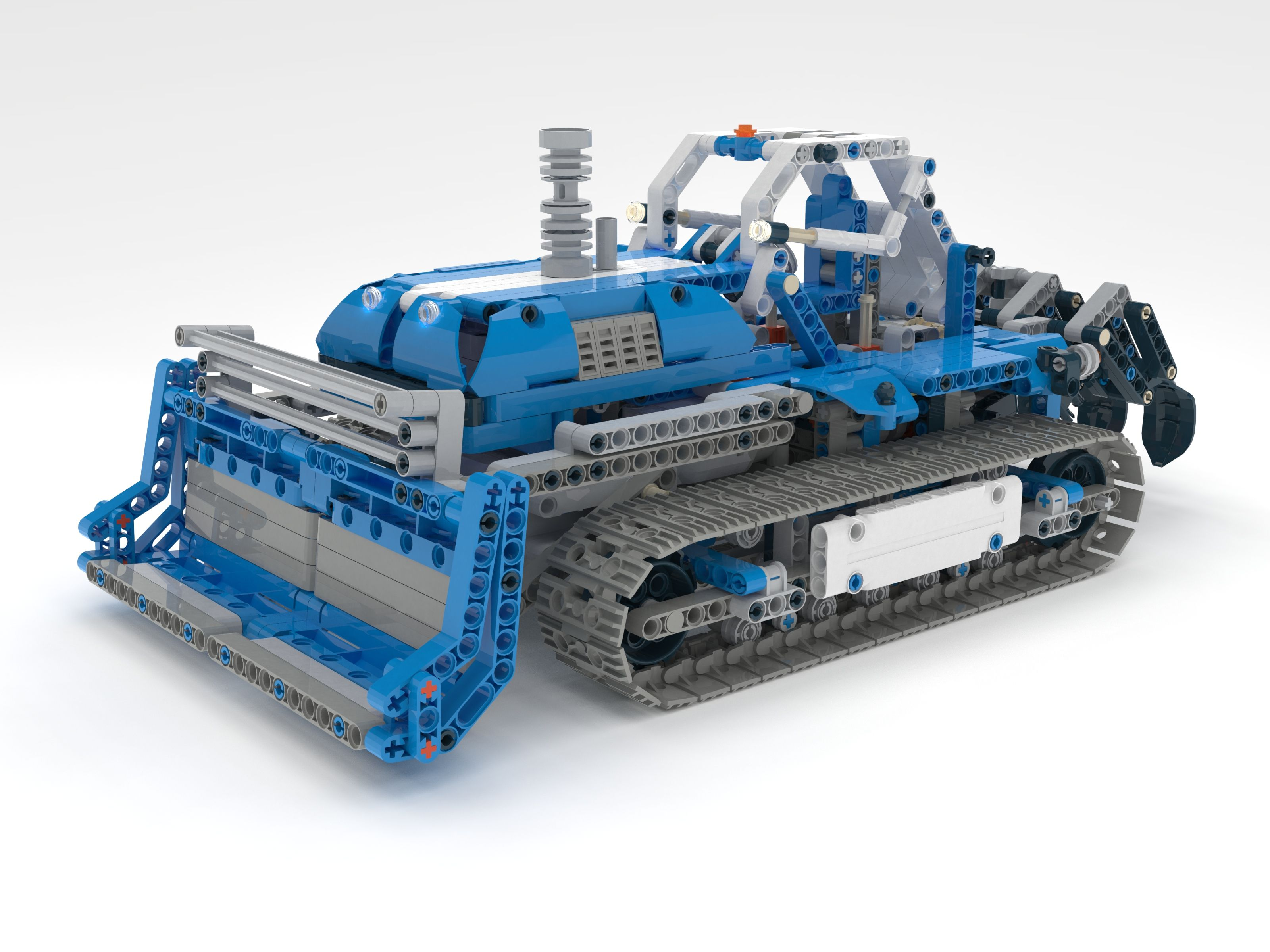 Bulldozer 42042 Alternative Model Lego Pinterest Lego Moc And Lego
