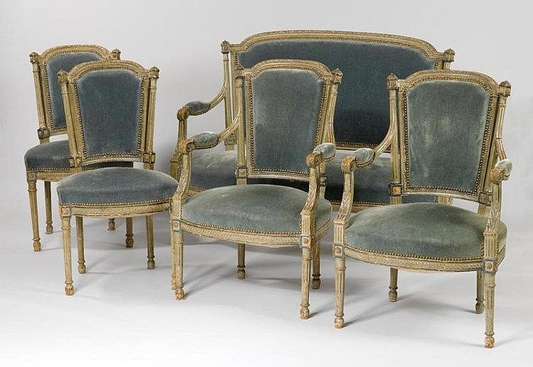 Napoleon III inspired by the Louis XVI style, France Consisting of