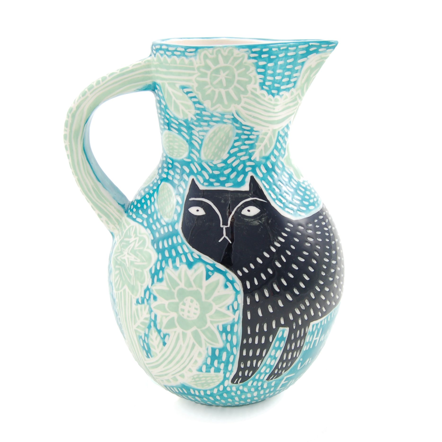 Blue Garden jug.  www.vickylindo.co.uk