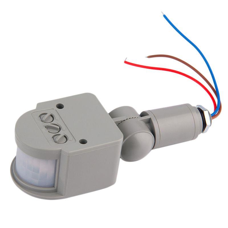 Ac 220v Infrared Pir Motion Sensor Light Switch Outdoor