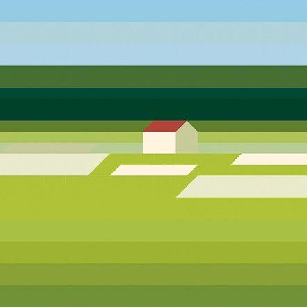 Landschaft Mit Haus – Maria Zaikina