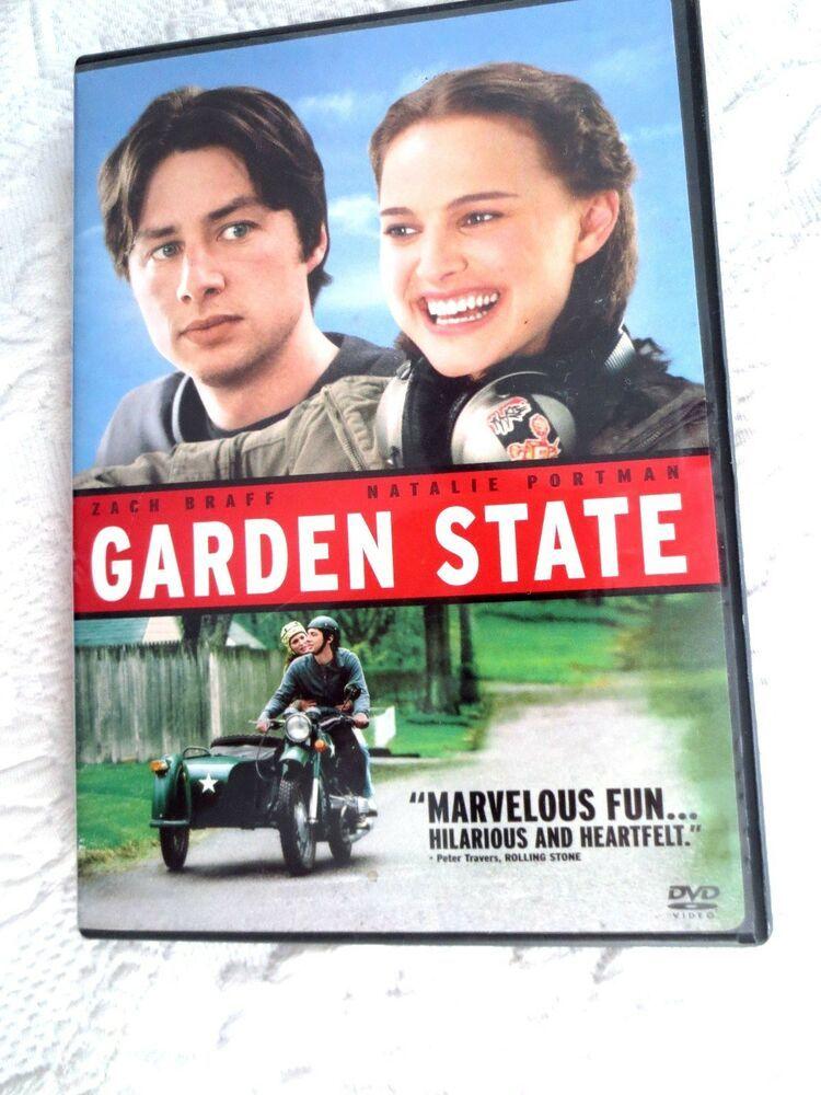 Garden State DVD Zach Braff, Natalie Portman, Peter