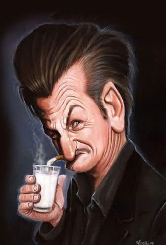 Sean Penn #Caricature #FunnyFaces