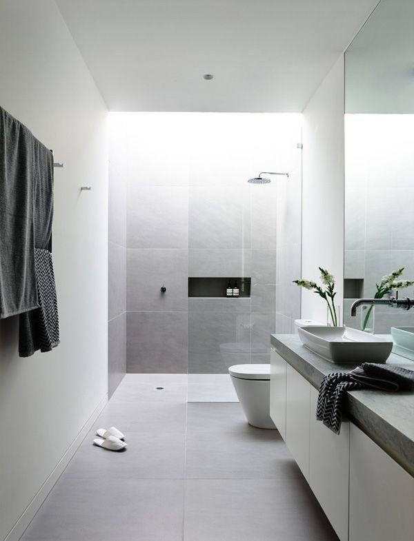 Splendid Ambiance Disclose In The Robinson Concept Home In Melbourne Australia Home Design Lover Small Bathroom Contemporary Bathroom Designs Bathroom Design