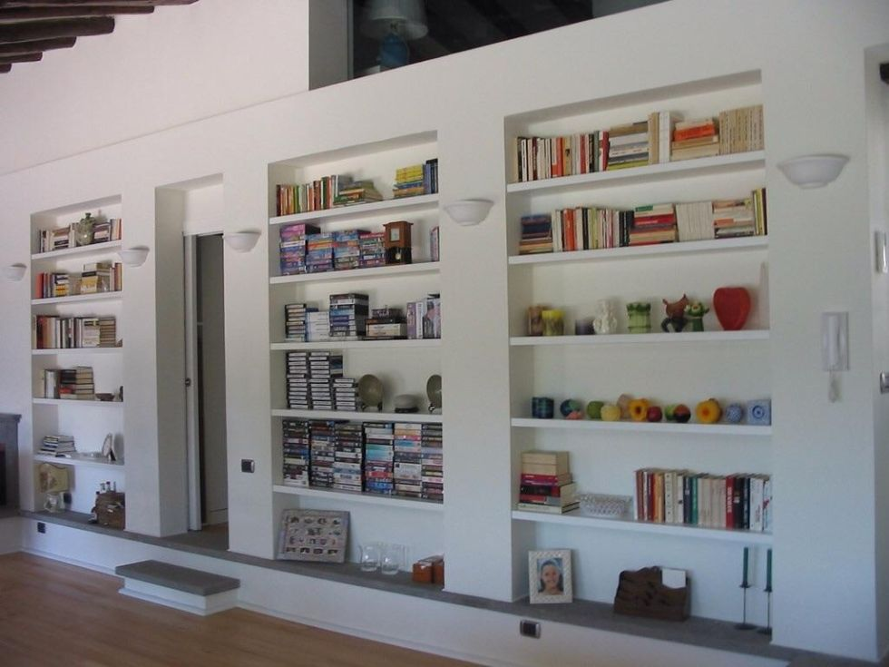 Foto Librerie In Cartongesso Filo Muro Made 4u Project Tm
