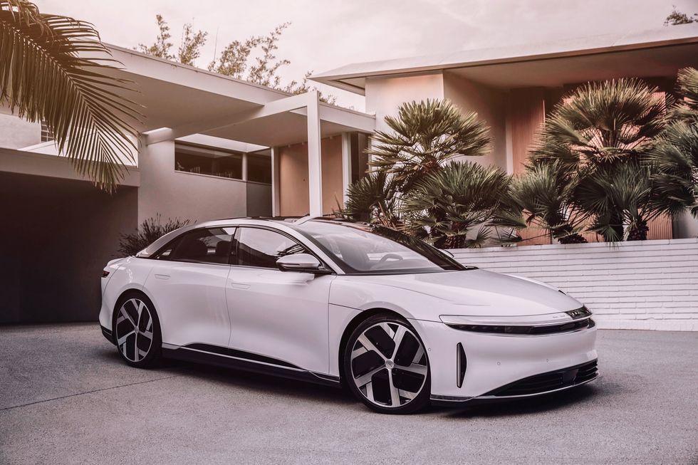 RangeBusting 2021 Lucid Air Electric Luxury Sedan