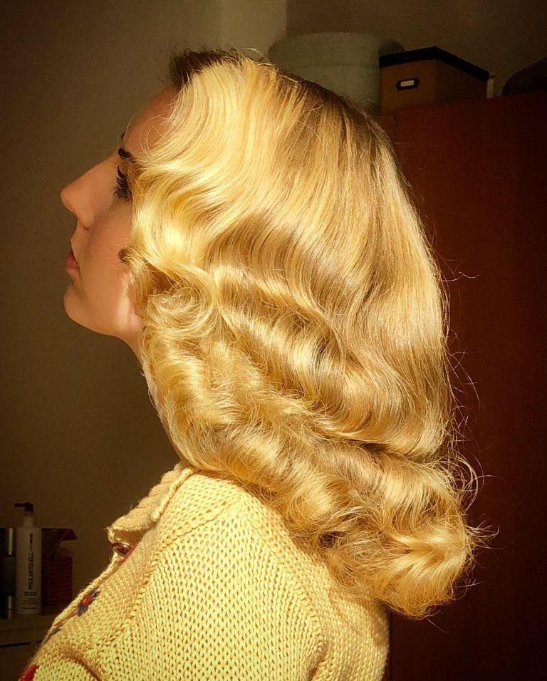 1940s Waves Tutorial 40s Hairstyles Waves Hair Tutorial 1940s Hairstyles