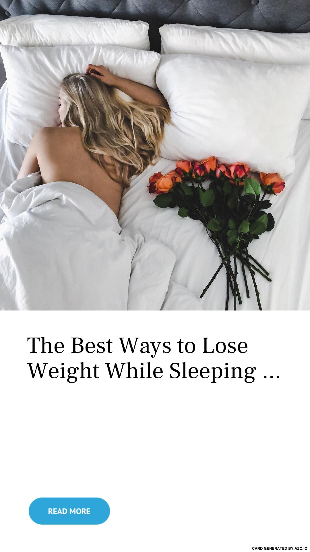 how to lose more weight while sleeping