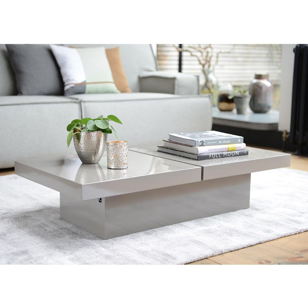 Dwell Coffee Table.Two Block Storage Coffee Table Stone Dwell Coffee Table Table