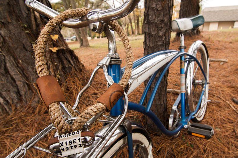 Manilla Hemp Bike Chains And Lettered Locks By Dalman Supply