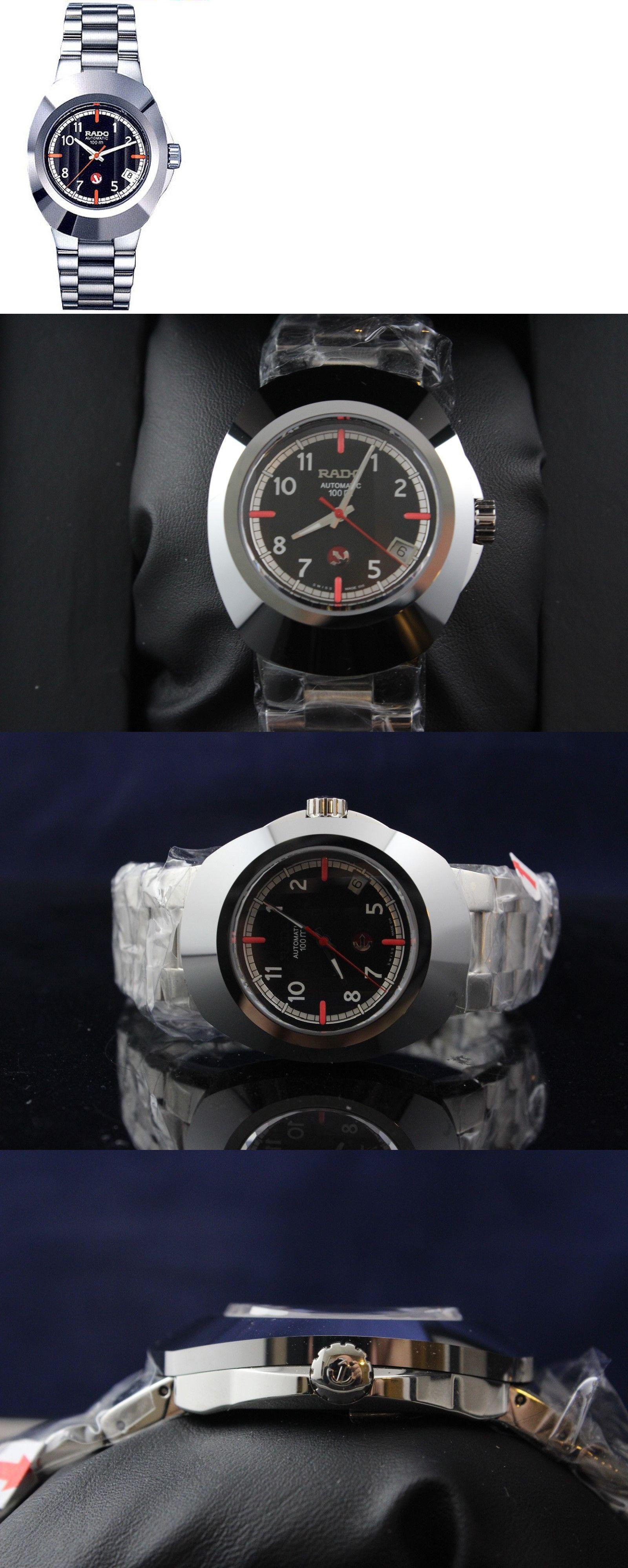 bb7b30decf94 Wristwatches 31387  New Rado Original Mens Automatic Stainless Steel  Bracelet Watch R12637153 BUY IT NOW ONLY   499.0