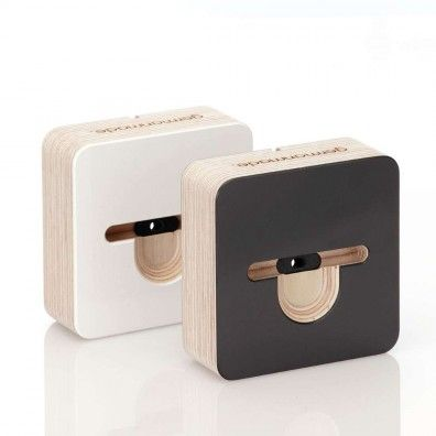 germanmade. iPhone 5 / 5s / 5c Dockingstation Holz - schwarz ...