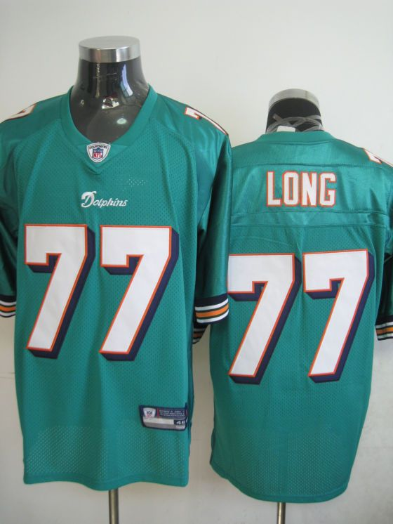 Mens Nike Miami Dolphins  77 Jake Long Green NFL Game Jersey  d6ddfa894