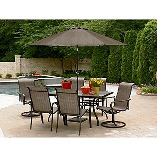 Garden Oasis East Point 7 Pc Dining Set 296 At Sears Backyard Patio Furniture Outdoor Patio Decor Patio