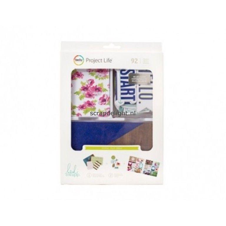 Becky Higgins | Project Life value kit: Heidi Swapp Sparkle value kit | Scrapdelight Scrapbookwinkel