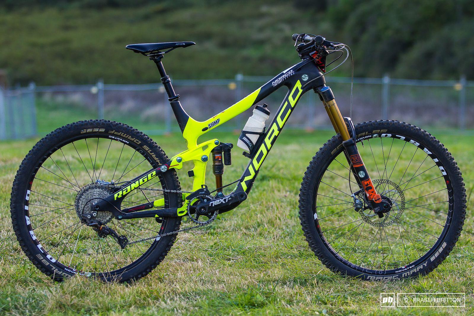 Sam Blenkinsop's Enduro Bike Check Crankworx Rotorua