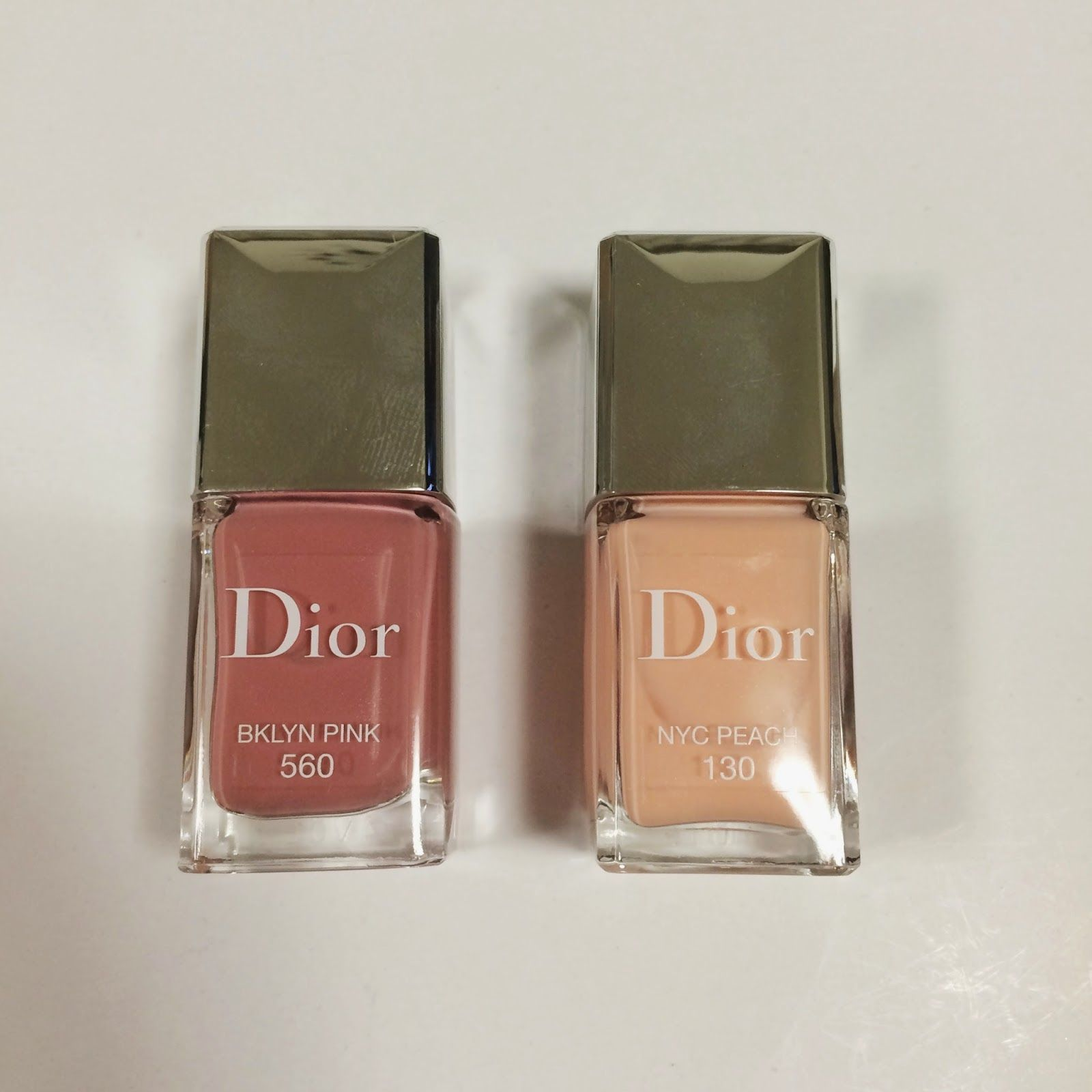 Dior cruise makeup collection 2015: #560 Bklyn Pink #130 Nyc Peach ...