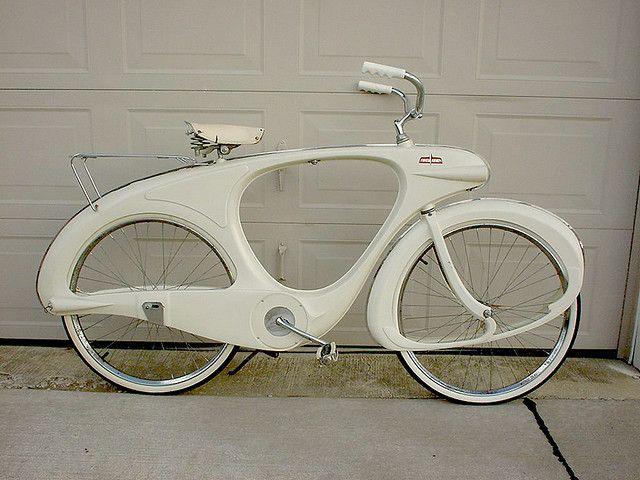 White Bowden Bicycle Vintage Bikes Vintage Bicycles