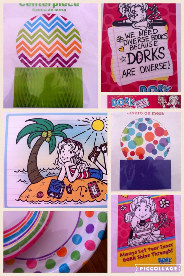 Accessories To Bring Color A Dork Diaries Bday Party
