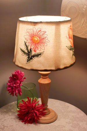Embroidered Lamp Shades Free project instructions to make embroidered lamp shades sewing free project instructions to make embroidered lamp shades audiocablefo